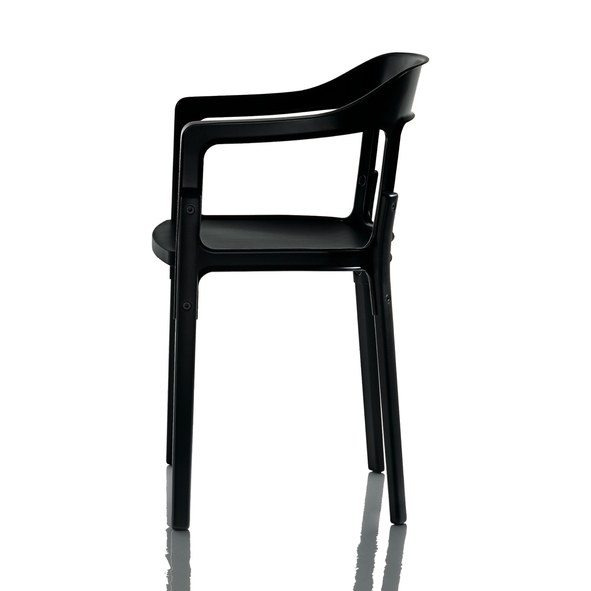 Magis steelwood chair ronan e erwan bouroullec owo for Magis steelwood