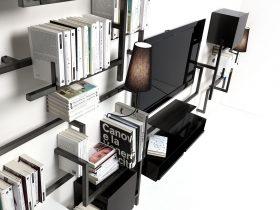 antologia-accessories-it Accessori per libreria Antologia, Mogg, Studio 14 La libreria Antologia si completa con uan linea di accessori quali i ripiani e i fermalibro.. Mogg