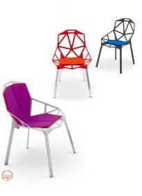 magis-chair-one-cuscino-it Cuscini per sedute Chair One, Magis, Konstantin Grcic, 2006 Disponibili in due versioni: per sola seduta e/o per seduta/ schienale.. Magis