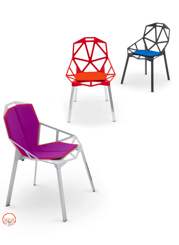 Chair one cuscino magis konstantin grcic owo online for Chair one grcic