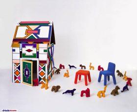 driadekosmo-ndebele Game house, DriadeKosmo, NDEBELE, Vittorio Locatelli, 2006.  . Driade