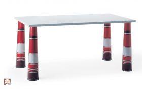 magis-flare-table-legs-it Tavolo , Magis, TAVOLO FLARE, Marcel Wanders, 2003.. Magis