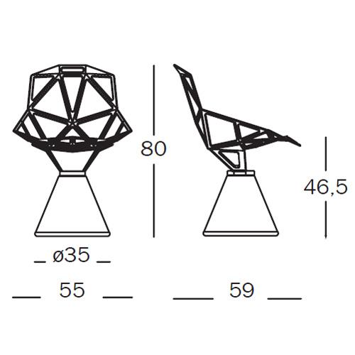 Magis Chair One Dimension
