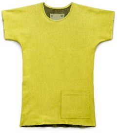 t-shirt-rev-pkt-melange-adidas-tom-dixon-it T-Shirt, Adidas by Tom Dixon, TSHIRT REVERSIBILE PKT YELLOW, PE 2014.. Adidas by tom dixon