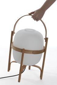 santa-cole-cesta-it Lampada portatile, Santa & Cole, LANTERNA CESTA,  Miguel Mila, 1964.. Santa & Cole