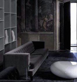 driade-hall-sofa-velvet-it Divano, Driade, HALL, Rodolfo Dordoni, 2005.. Driade