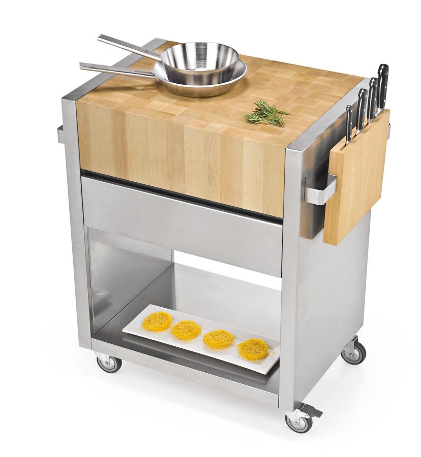 Carrello cucina design trendy bello carrelli da cucina - Carrello cucina design ...