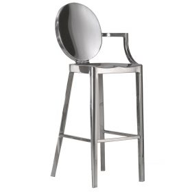 kong-barstool-with-arms-emeco-it Sgabello, Emeco, KONG SGABELLO BAR CON BRACCIOLO, Philippe Starck.. Emeco
