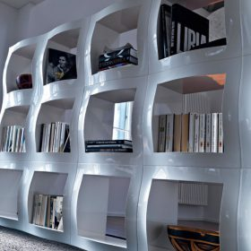 magis-boogie-woogie-bookcase-it Libreria Modulare, Magis, BOOGIE WOOGIE, Stefano Giovannoni, 2004.. Magis