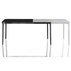 vanity-table-magis-extensible Table, Masig, VANITY TABLE EXTENSIBLE, Stefano Giovannoni, 2009 Extensible Rectangular table to accompany the Vanity Chair.  . Magis