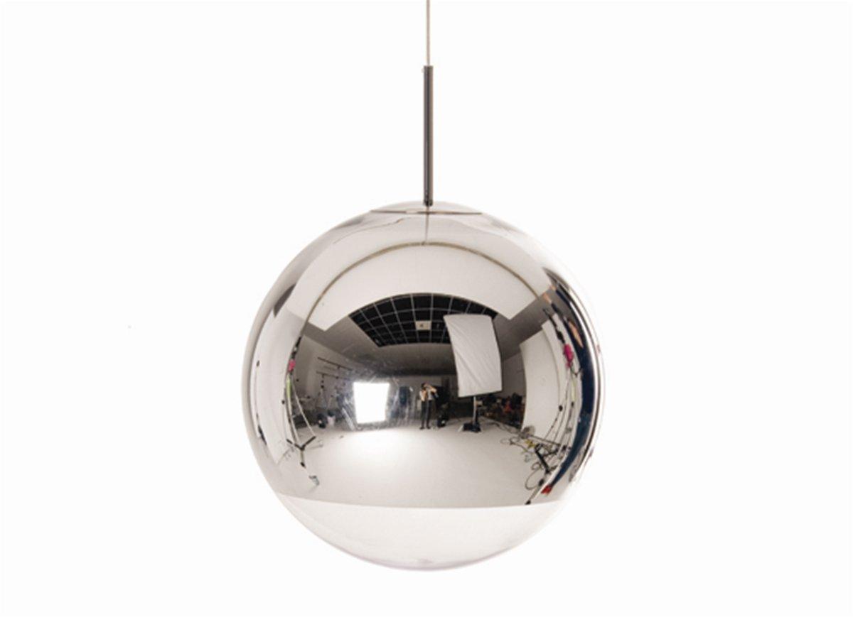 Tom Dixon Lampada Fluoro : Tom dixon mirror ball lampada a sospensione