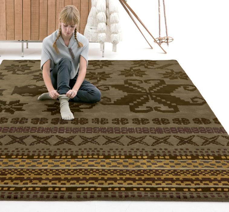 nanimarquina folk tappeto nani marquina owo online. Black Bedroom Furniture Sets. Home Design Ideas