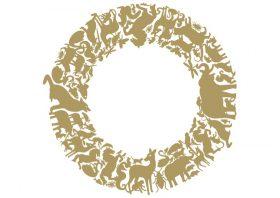 pantheon-circle-it Stickers, Domestic, PANTHEON CIRCLE, Studio Job.. Domestic