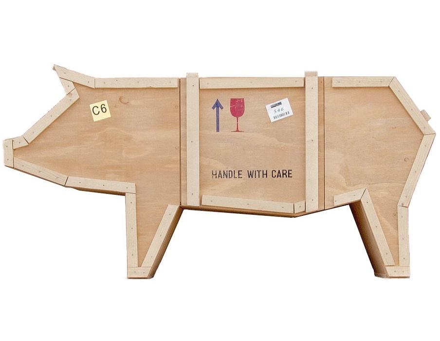 Contenitore sending animals pig seletti marcantonio for Malerba mobili