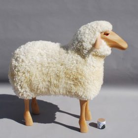 sheep-hanns-peter-kraff-it Sgabello, Owo, SHEEP, Hamms-Peter Kraff.. Owo
