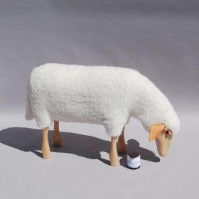 sheep-grazing-hanns-peter-krafft Figures/ Stool, Owo, SHEEP GRAZING, Hamms-Peter Kraff.  . Owo