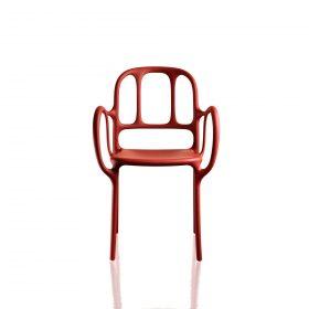 magis-mila-chair Sedia , Magis, MILA' CHAIR, James Hayon, 2016. Il designer-artista spagnolo James Hayon ha creato una sedia con forme sinuose ispirandosi al modermismo catalano.. Magis